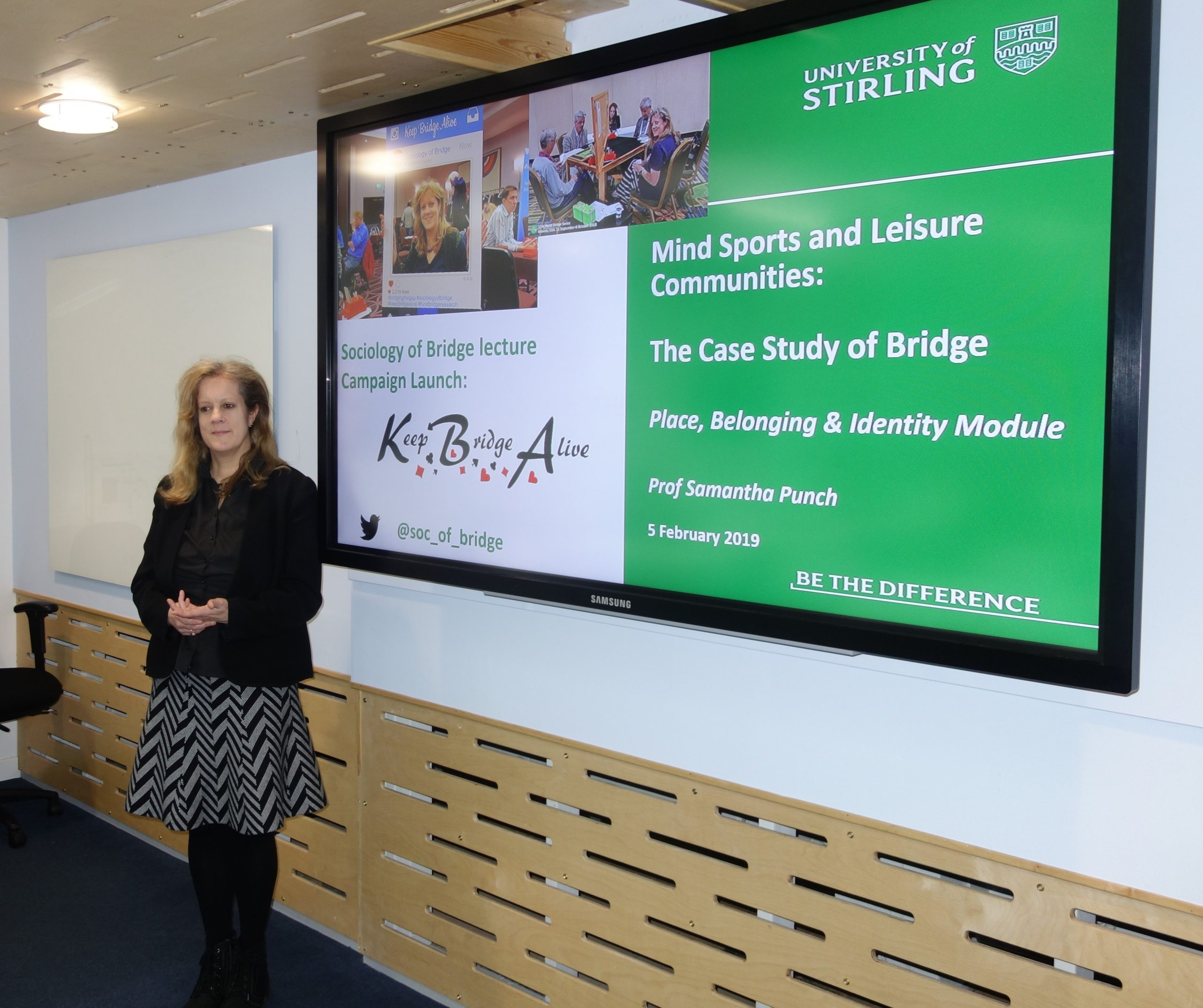 Samantha Punch presents the case study of bridge