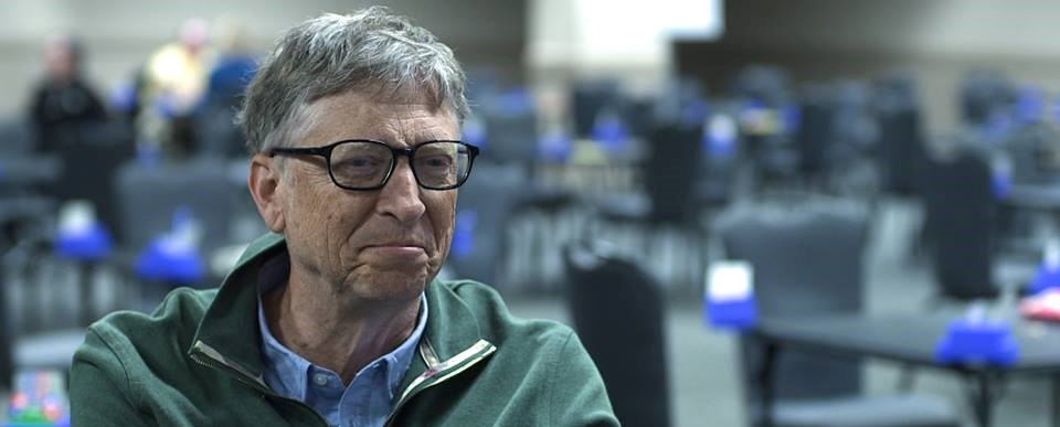 Bill Gates is interviewed in ACES & KNAVES